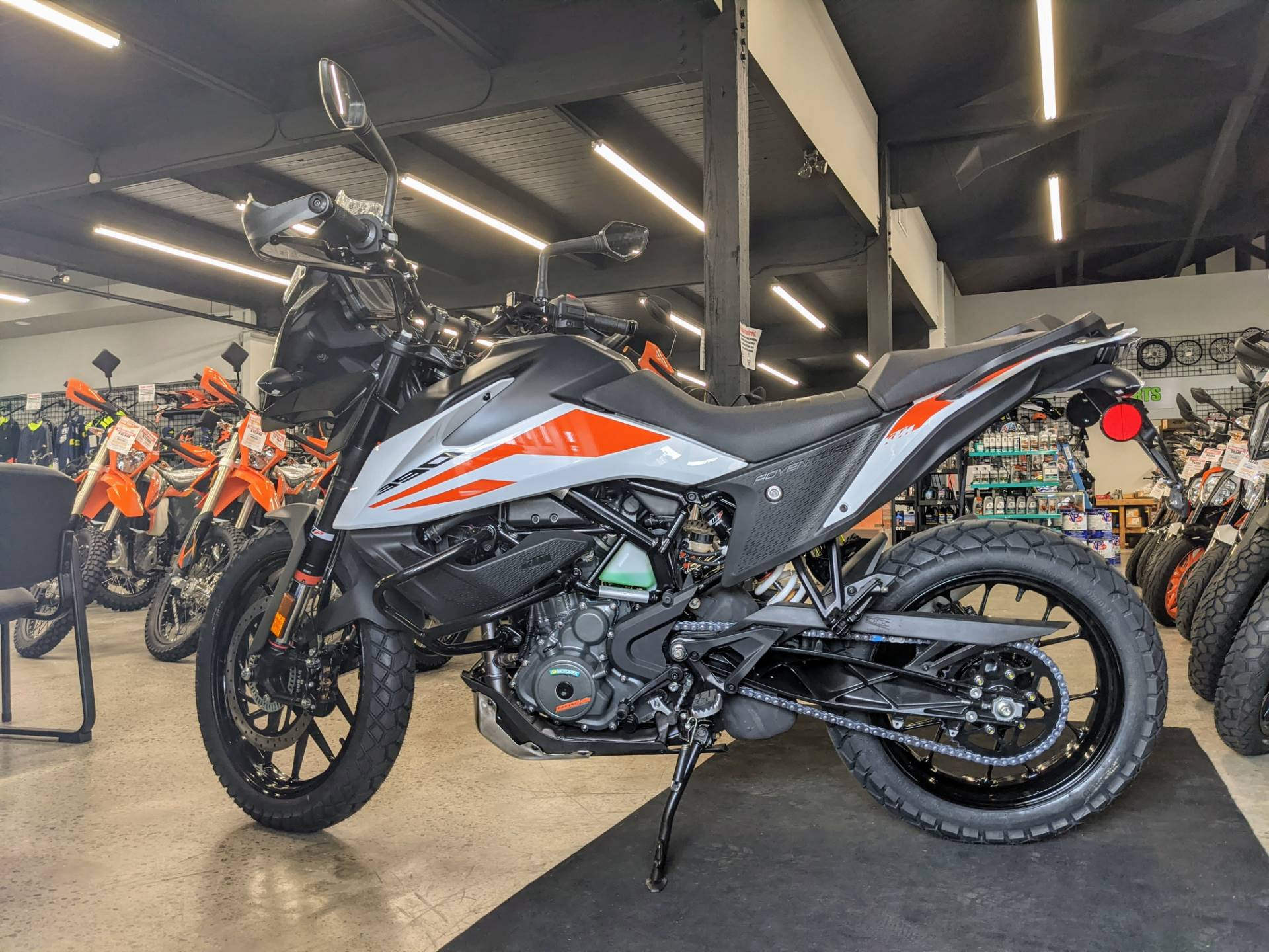 2020 KTM 390 Adventure in Gresham, Oregon - Photo 1