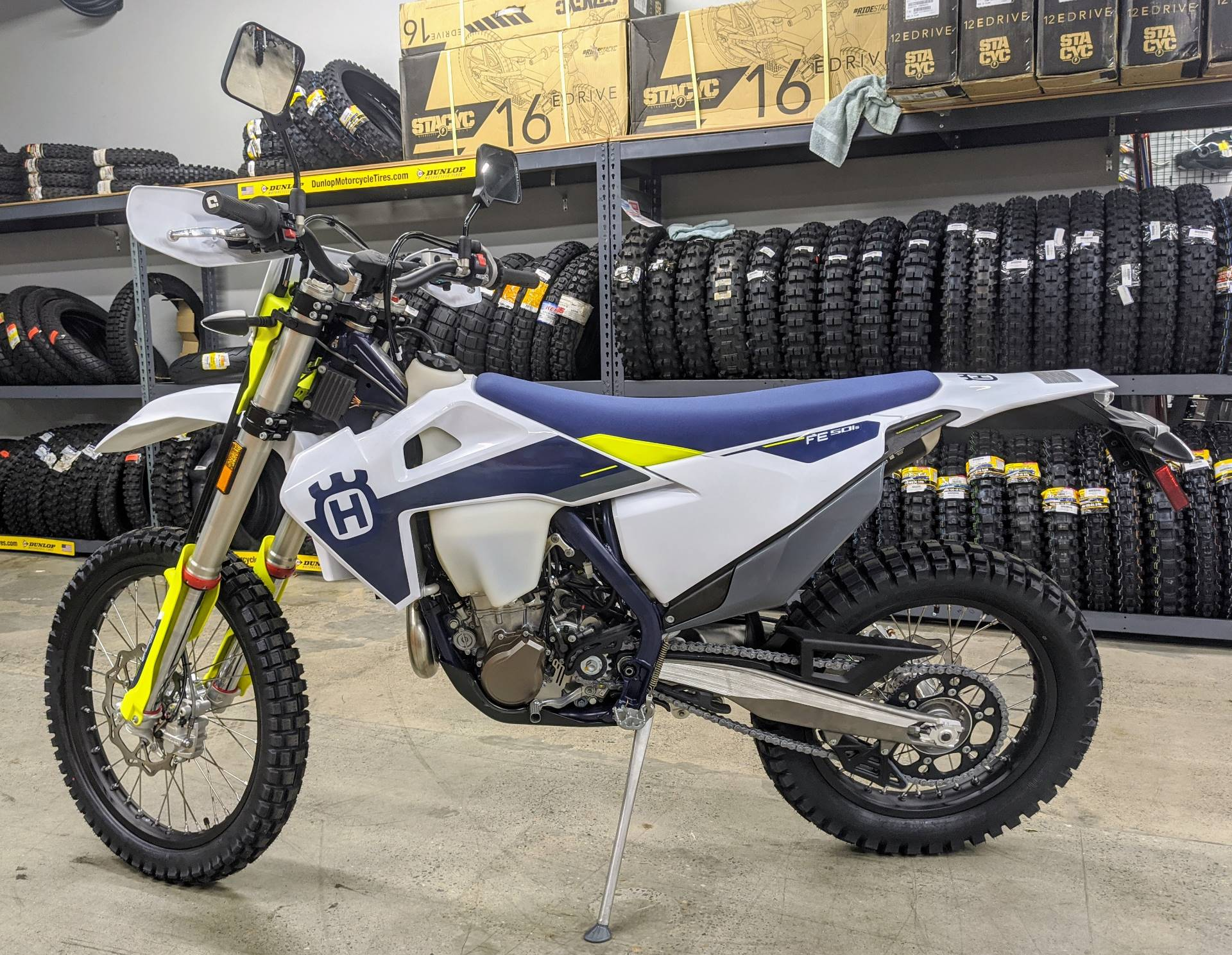 2021 Husqvarna FE 501s in Gresham, Oregon - Photo 3