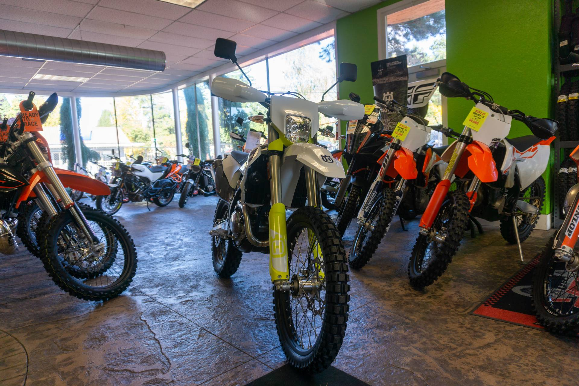 2020 Husqvarna FE 350s in Gresham, Oregon - Photo 2