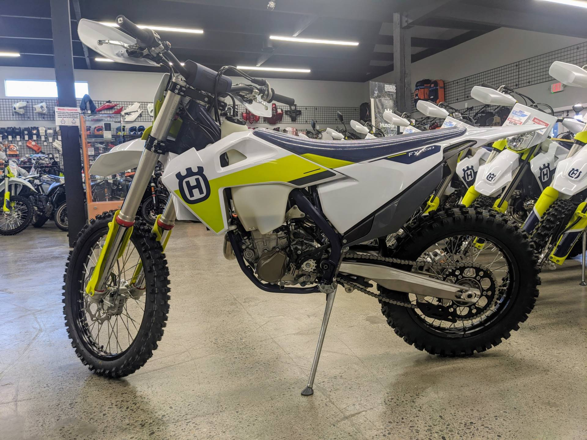 2021 Husqvarna FX 450 in Gresham, Oregon - Photo 3