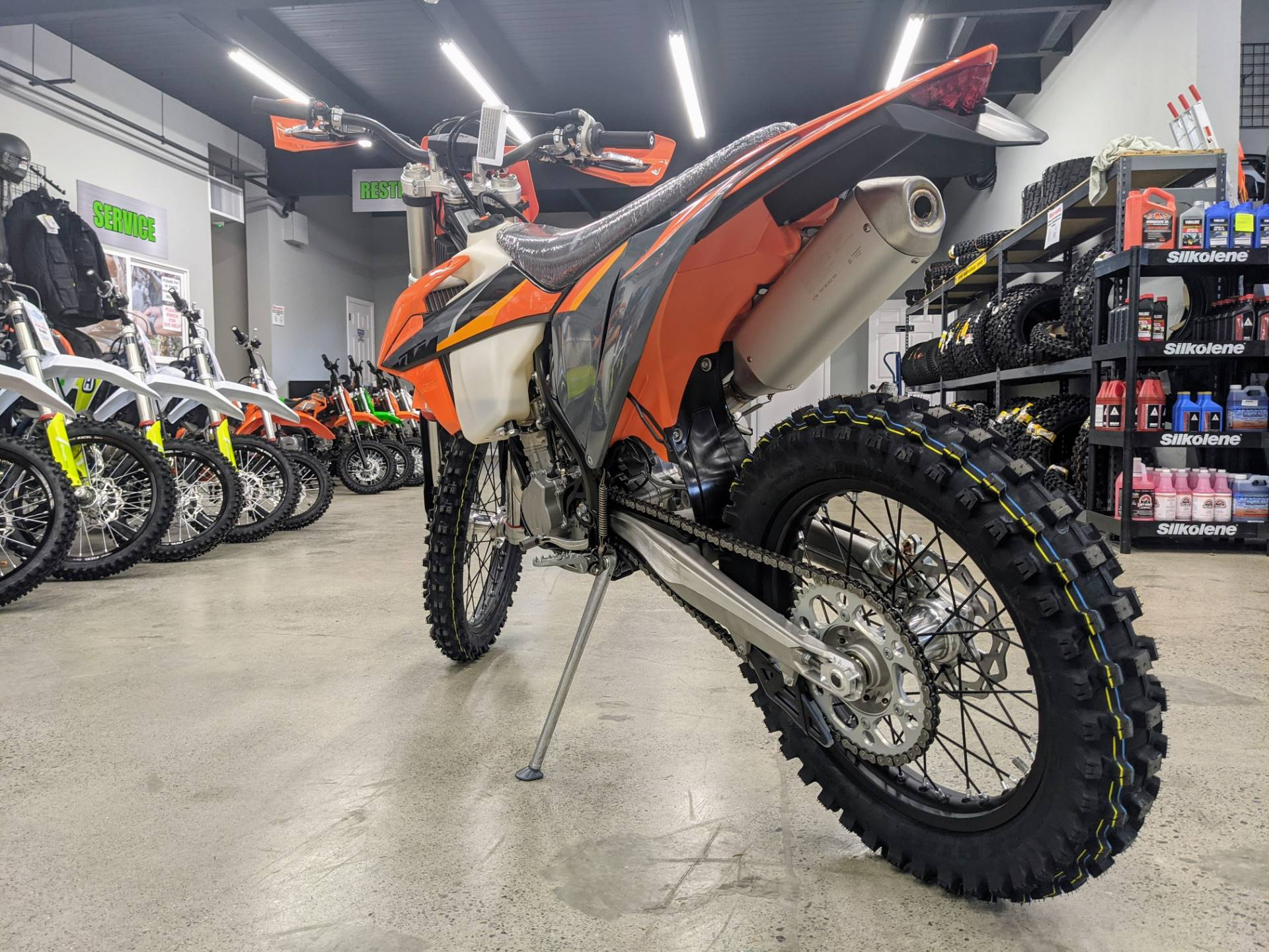 2021 KTM 500 XCF-W in Gresham, Oregon - Photo 4