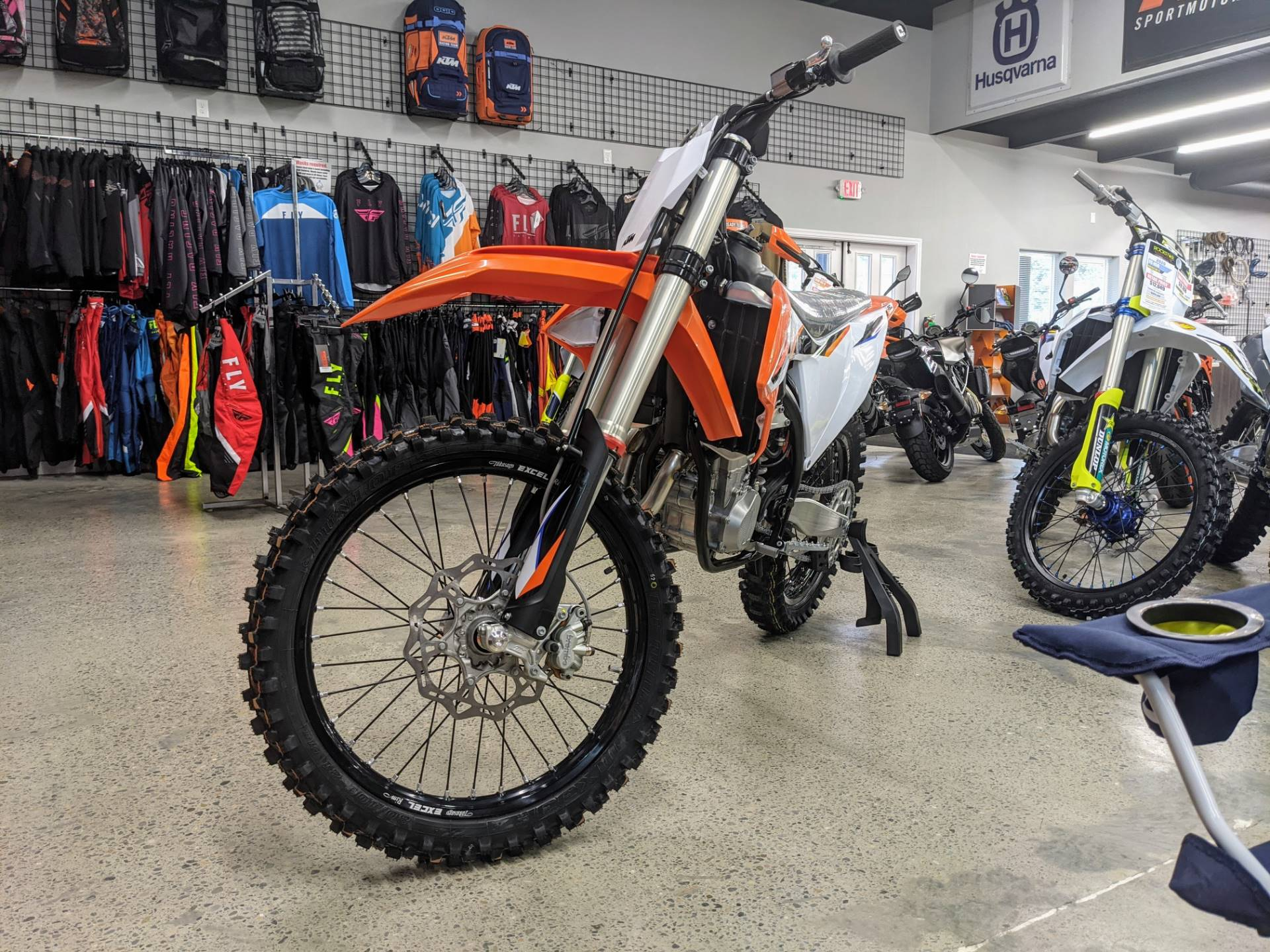 New 2021 Ktm 450 Sx F Motorcycles In Gresham Or K319970 Orange