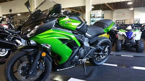 2014 Kawasaki Ninja® 650 in San Jose, California