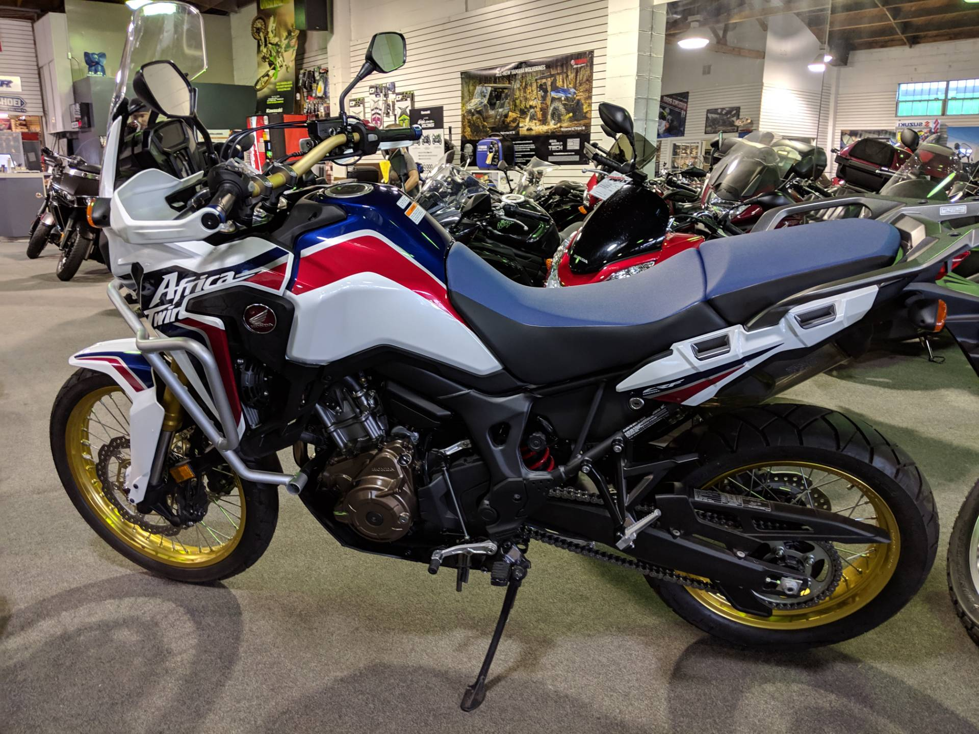 2017 Honda Africa Twin in San Jose, California