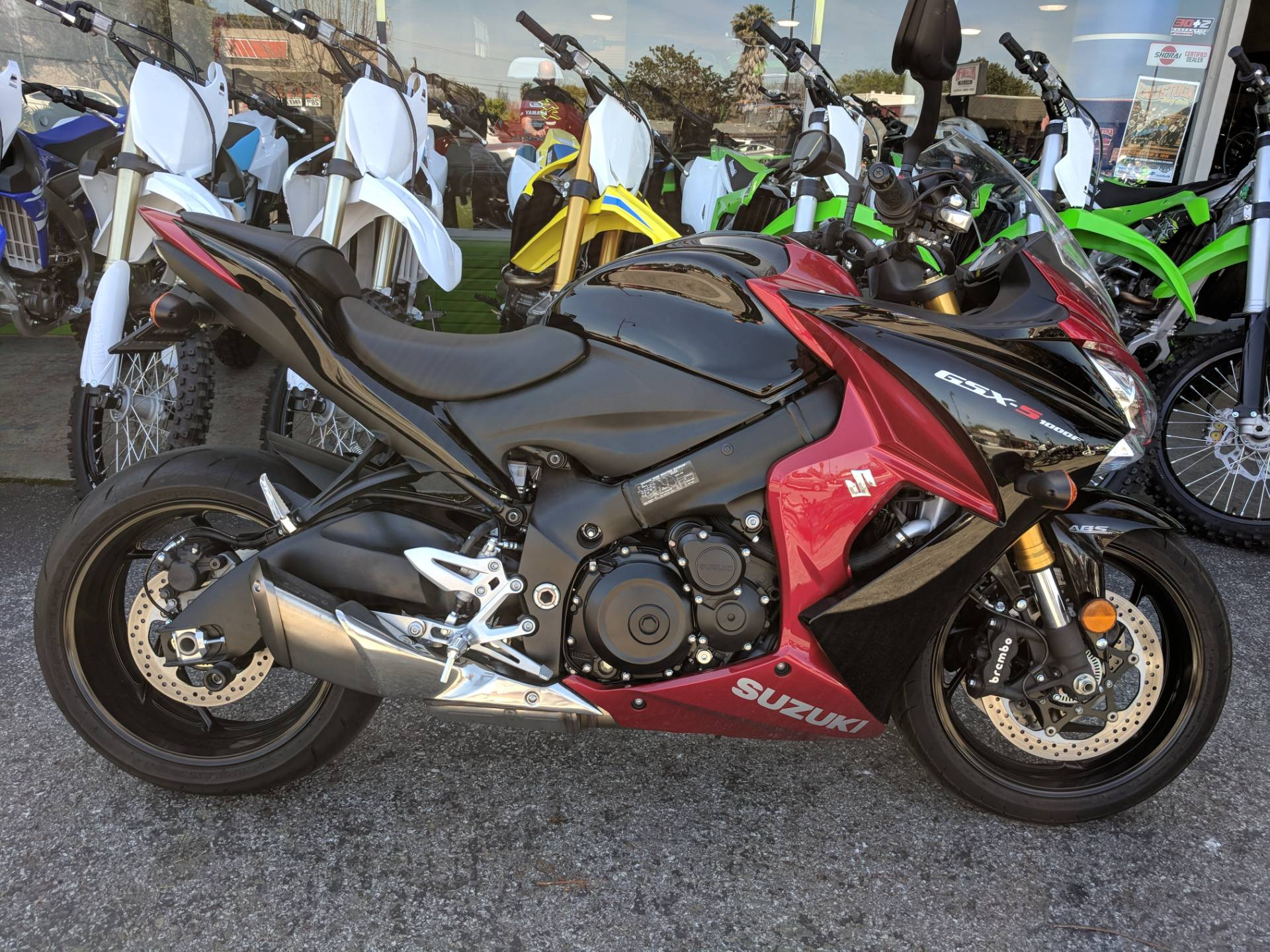 2016 Suzuki GSX-S1000F ABS in San Jose, California