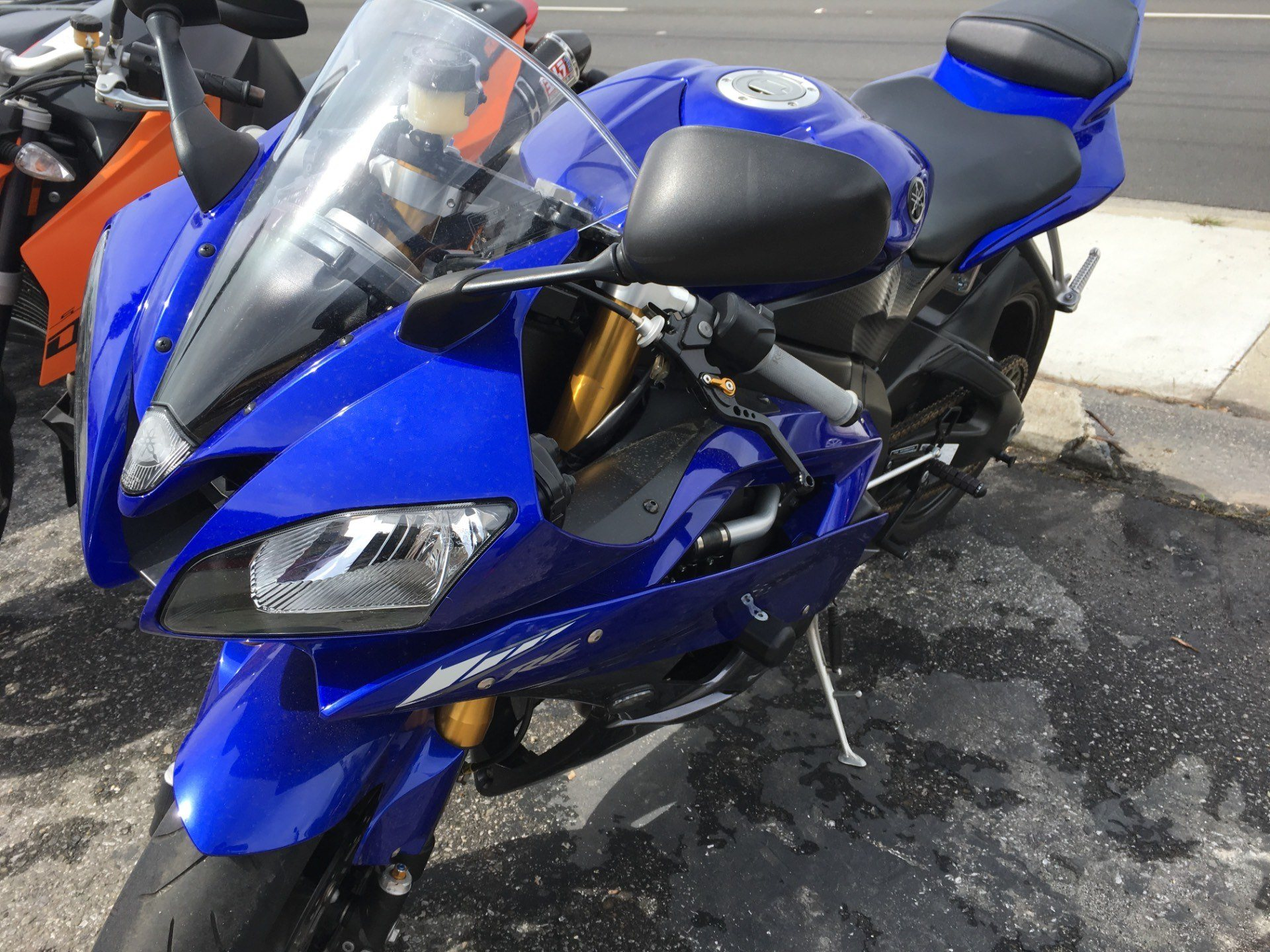 2007 Yamaha YZF-R6 in San Jose, California