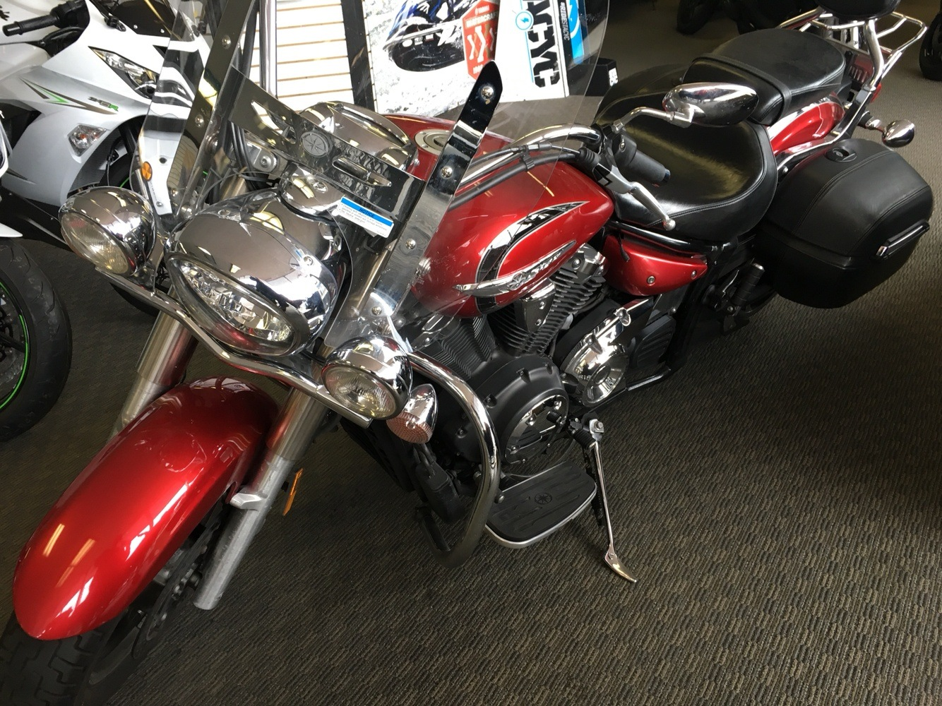 2013 Yamaha V Star 1300 Tourer in San Jose, California