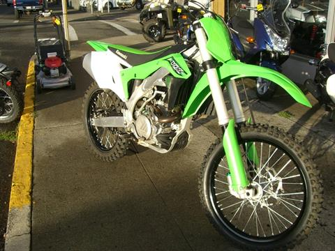 2016 Kawasaki KX450F in Centralia, Washington