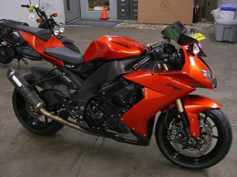 2009 Kawasaki Ninja® ZX™-10R in Centralia, Washington