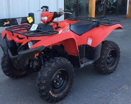 2016 Yamaha Grizzly EPS in Walton, New York