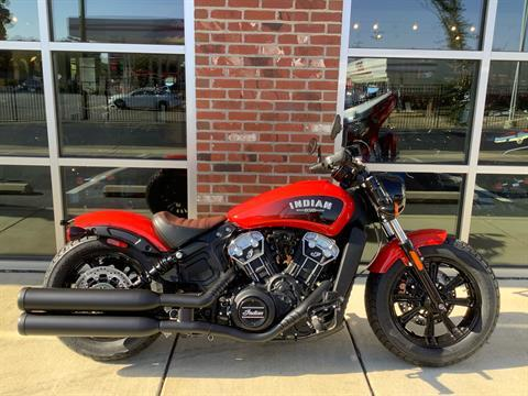 2021 Indian Scout® Bobber ABS Icon in Newport News, Virginia - Photo 1