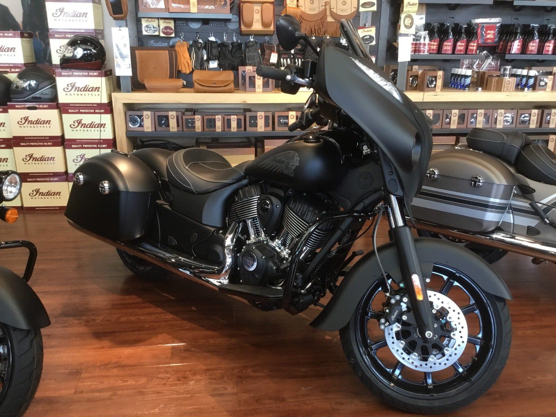 2018 Indian Chieftain Dark Horse® ABS in Newport News, Virginia
