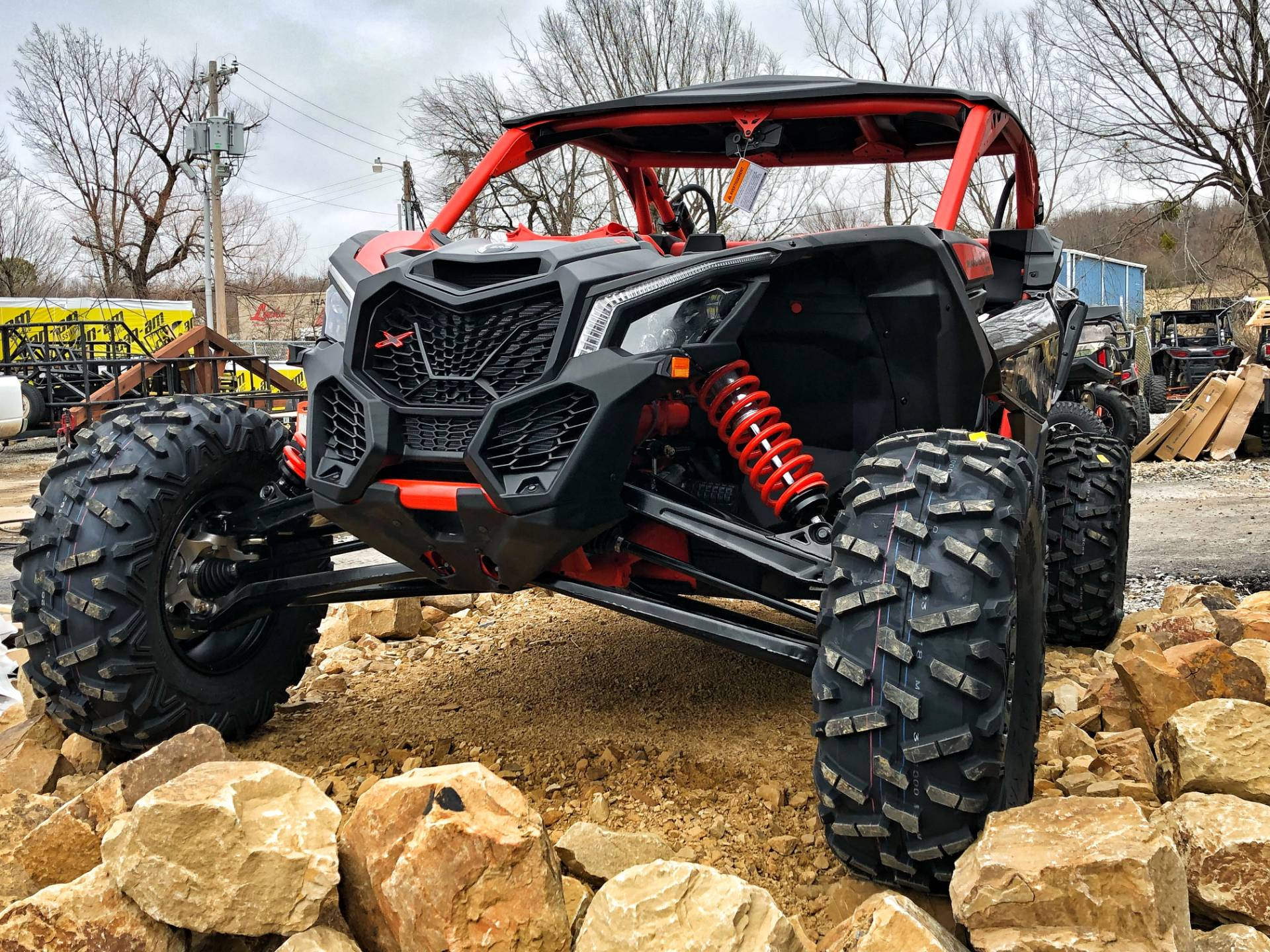 2018 Can-Am Maverick X3 X rs Turbo R in McAlester, Oklahoma