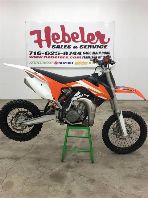 2016 KTM 85 SX 17/14 in Pendleton, New York