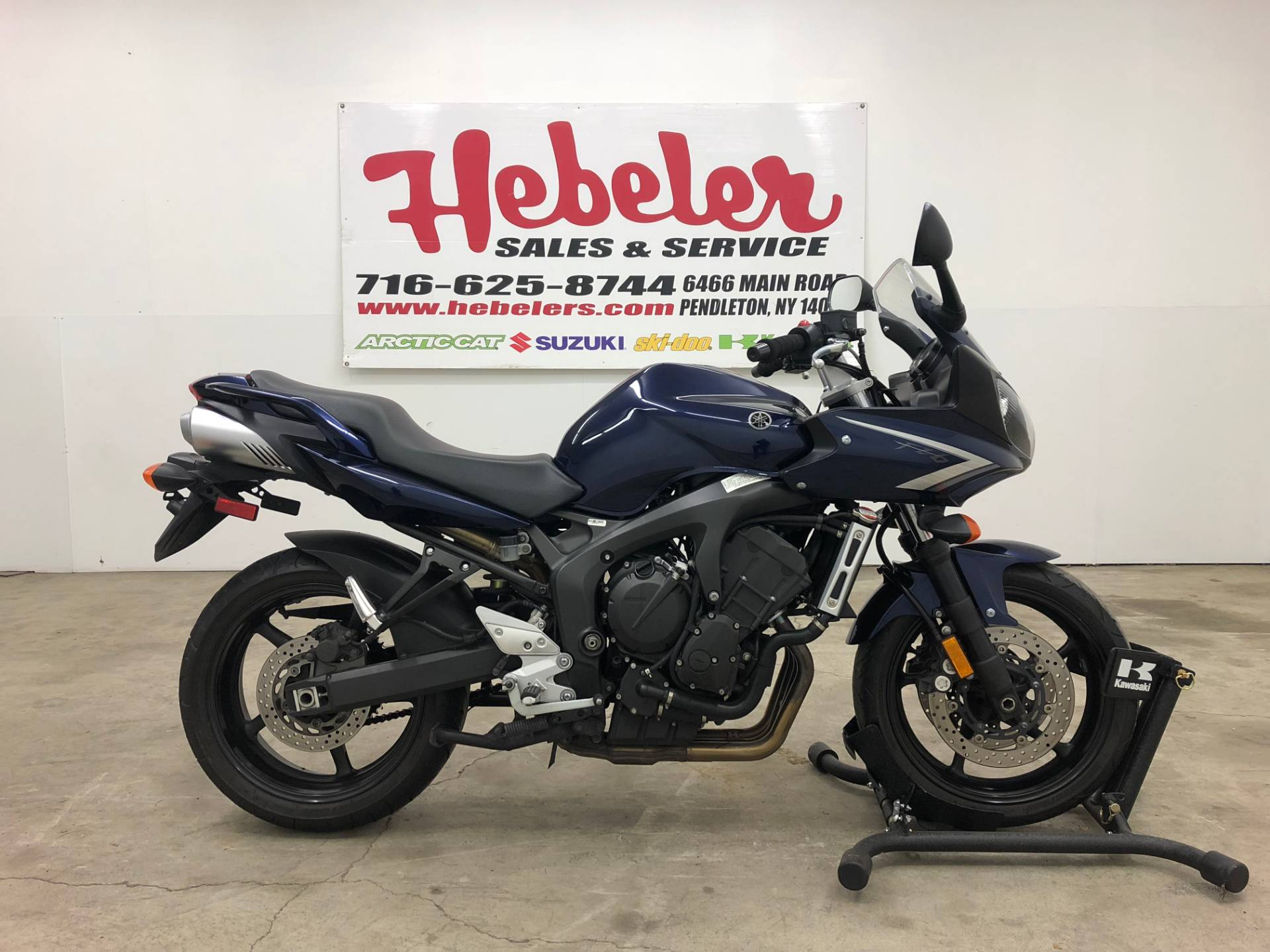 2008 Yamaha FZ6 in Pendleton, New York