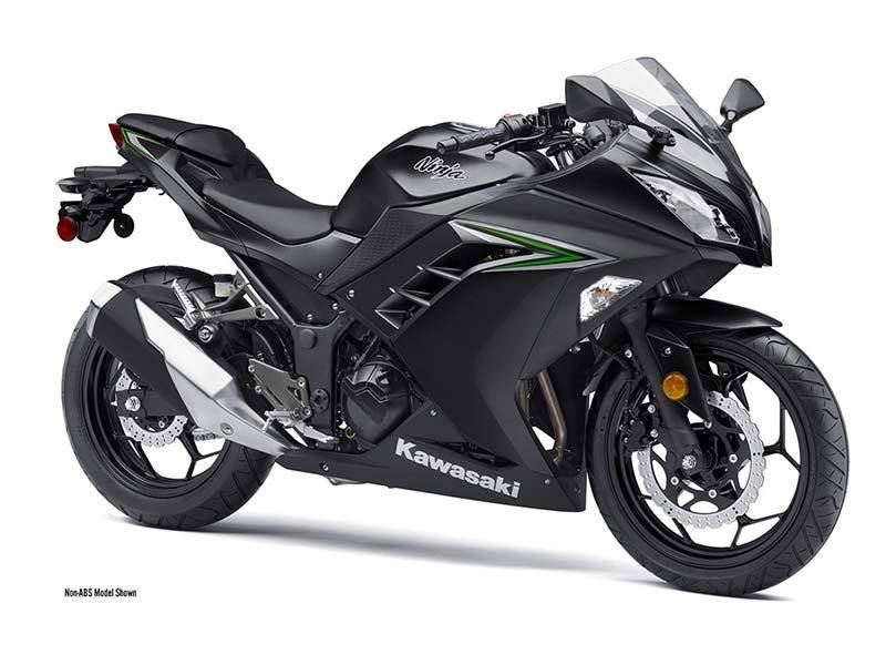 2016 Kawasaki Ninja 300 Metallic Matte Carbon Gray in Pendleton, New York