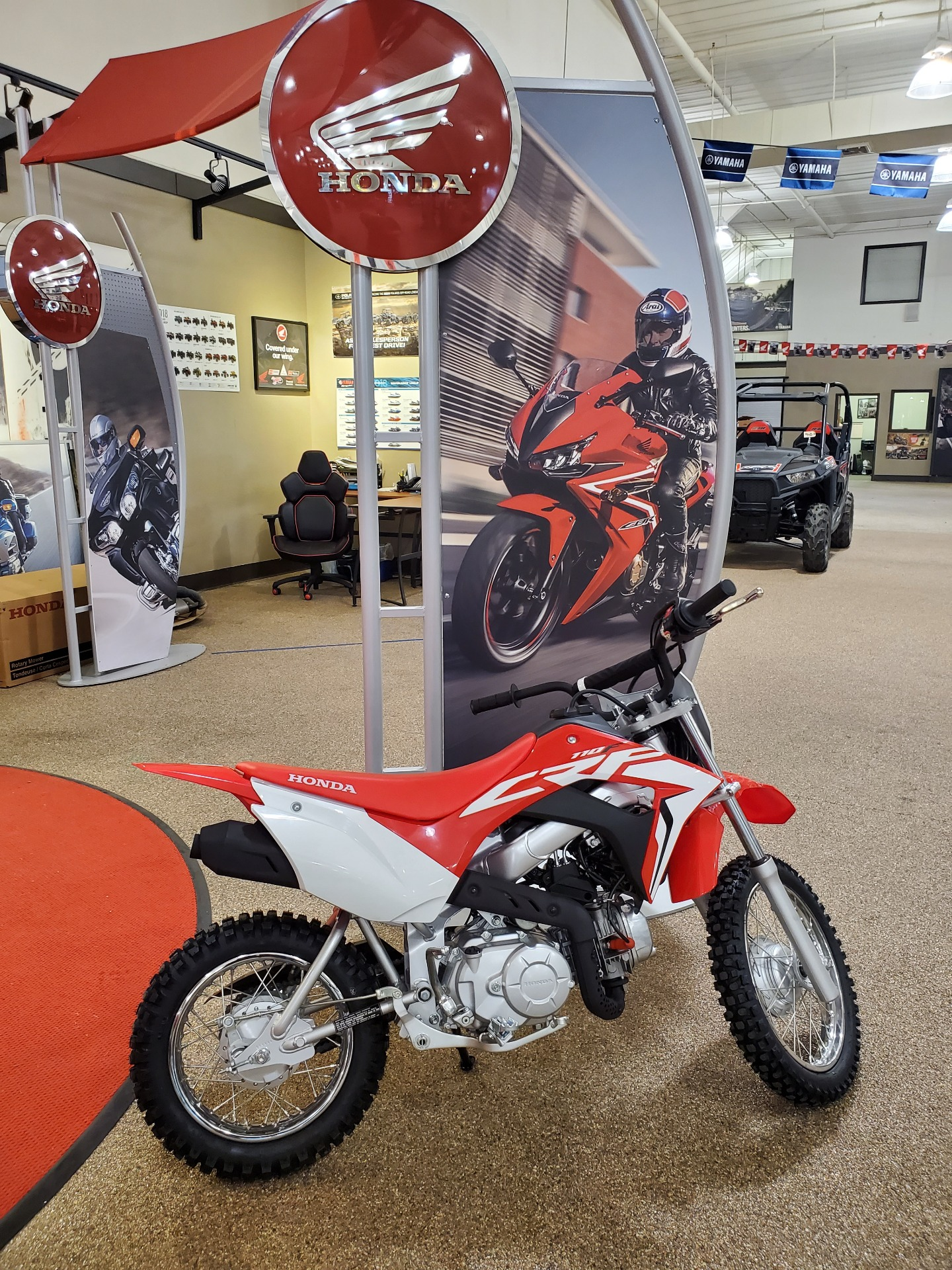2021 Honda CRF110F in North Platte, Nebraska - Photo 1