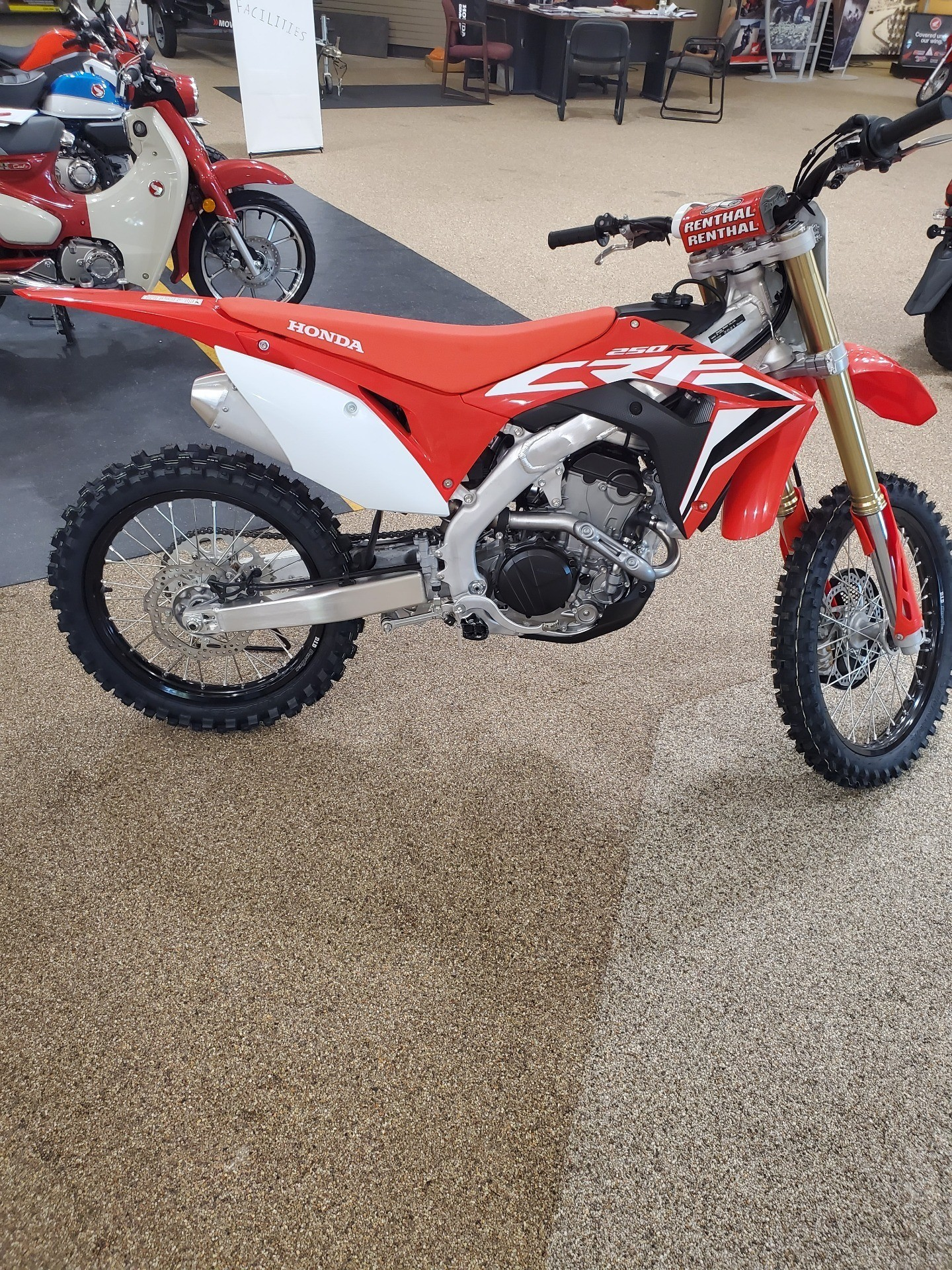 2021 Honda CRF250R in North Platte, Nebraska - Photo 4