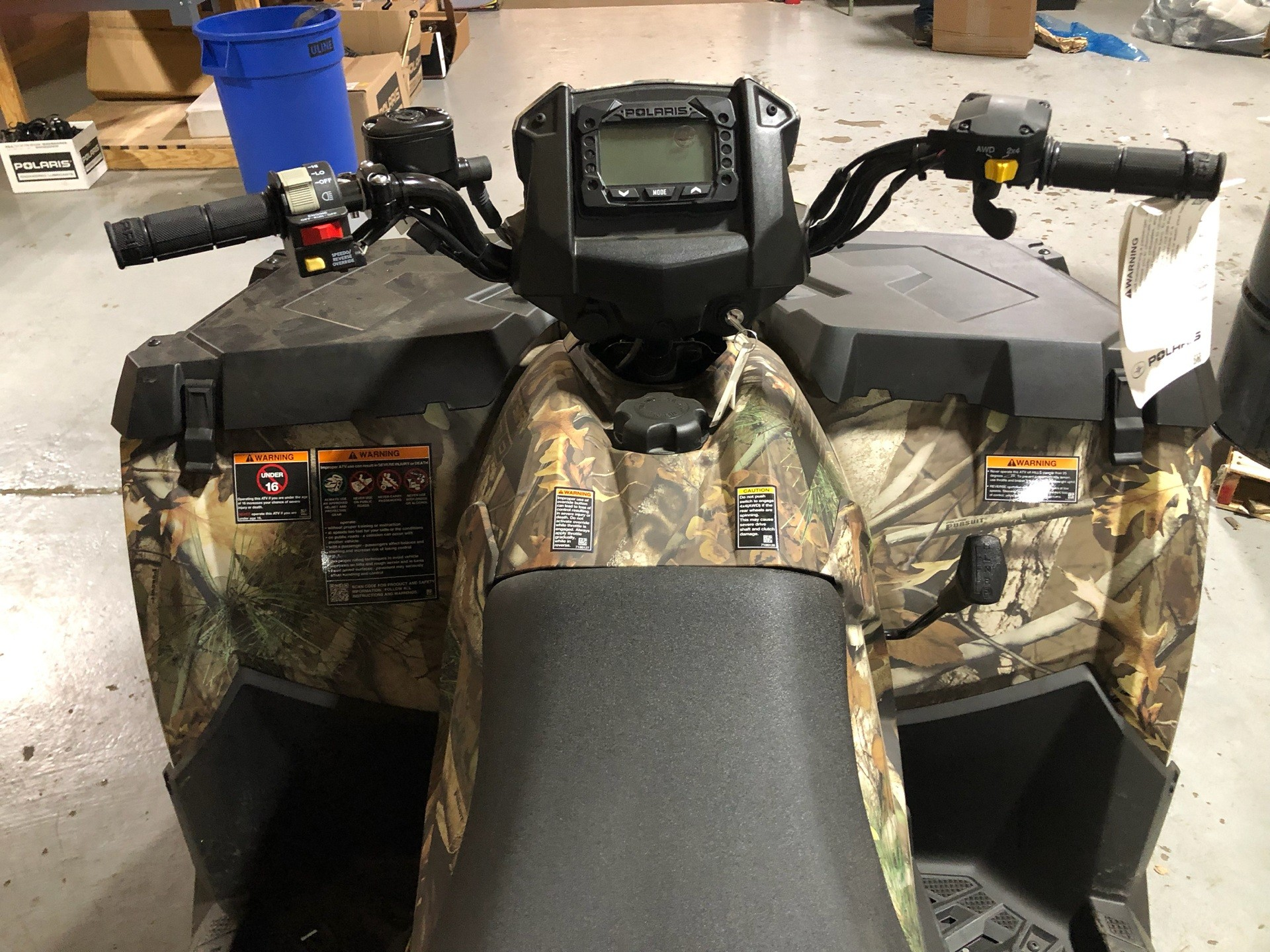 2019 Polaris Sportsman 570 EPS Camo in Cleveland, Texas - Photo 5