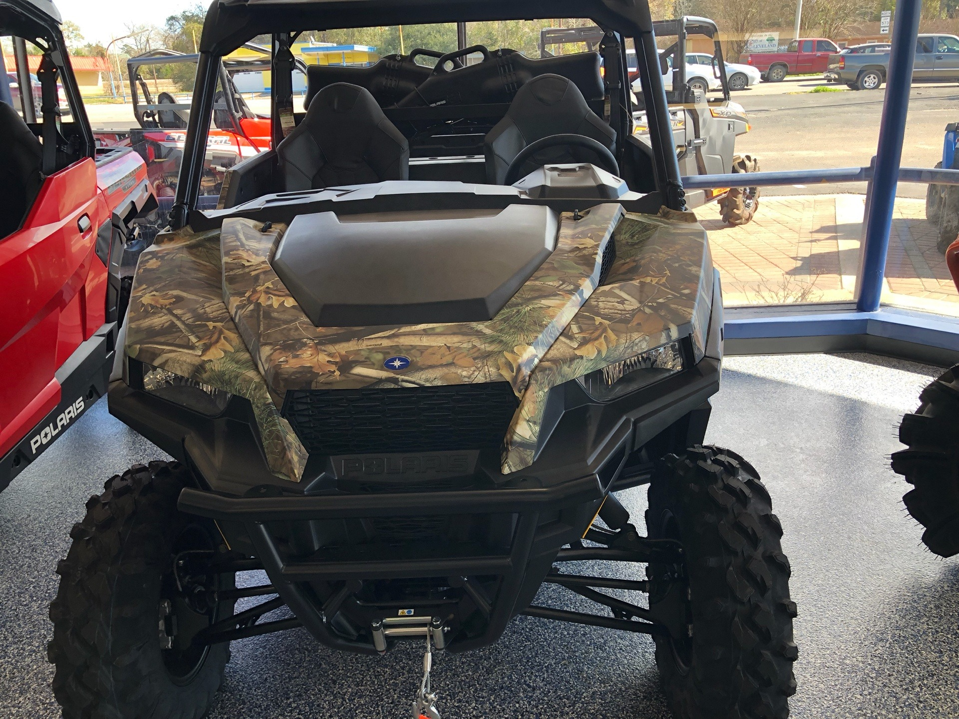 2019 Polaris General 1000 EPS Hunter Edition in Cleveland, Texas - Photo 2