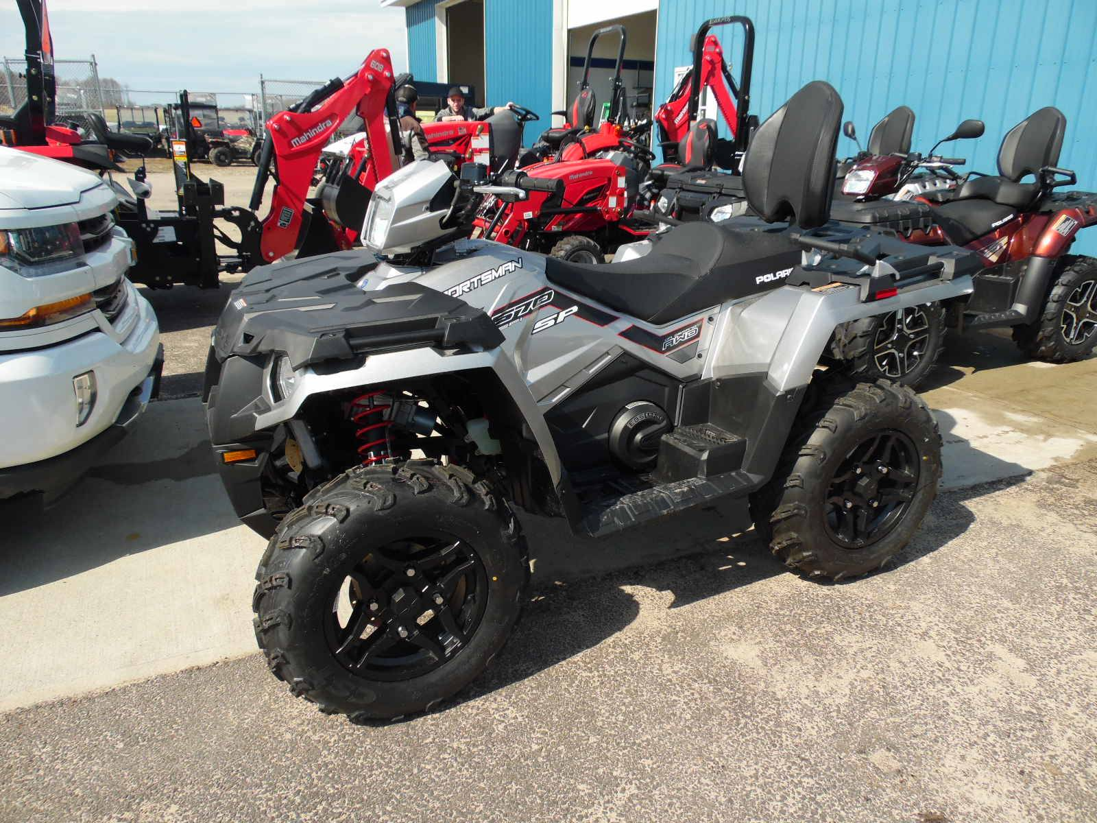 2019 Polaris Sportsman Touring 570 SP in Malone, New York