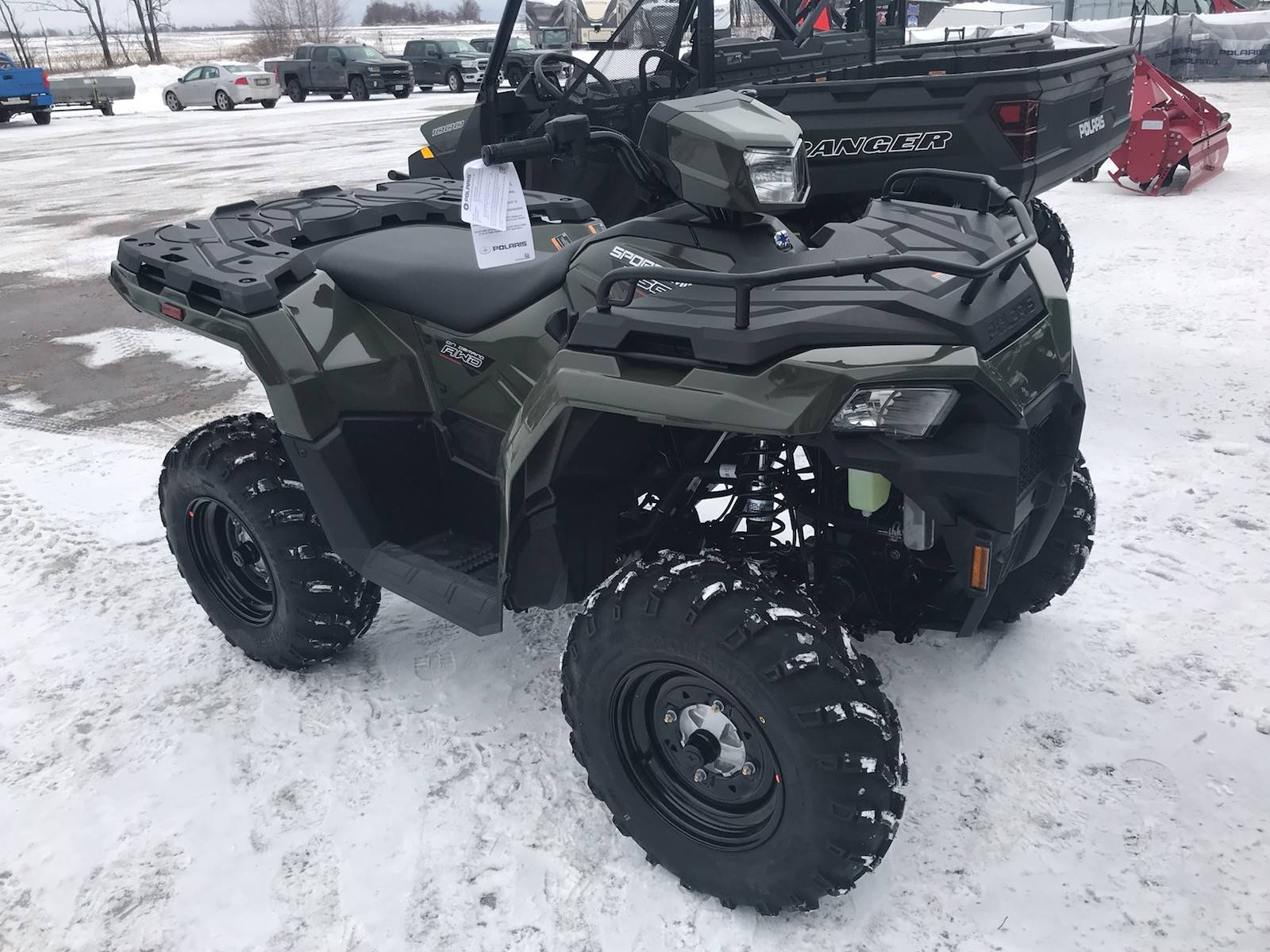2021 Polaris Sportsman 450 H.O. in Malone, New York - Photo 1