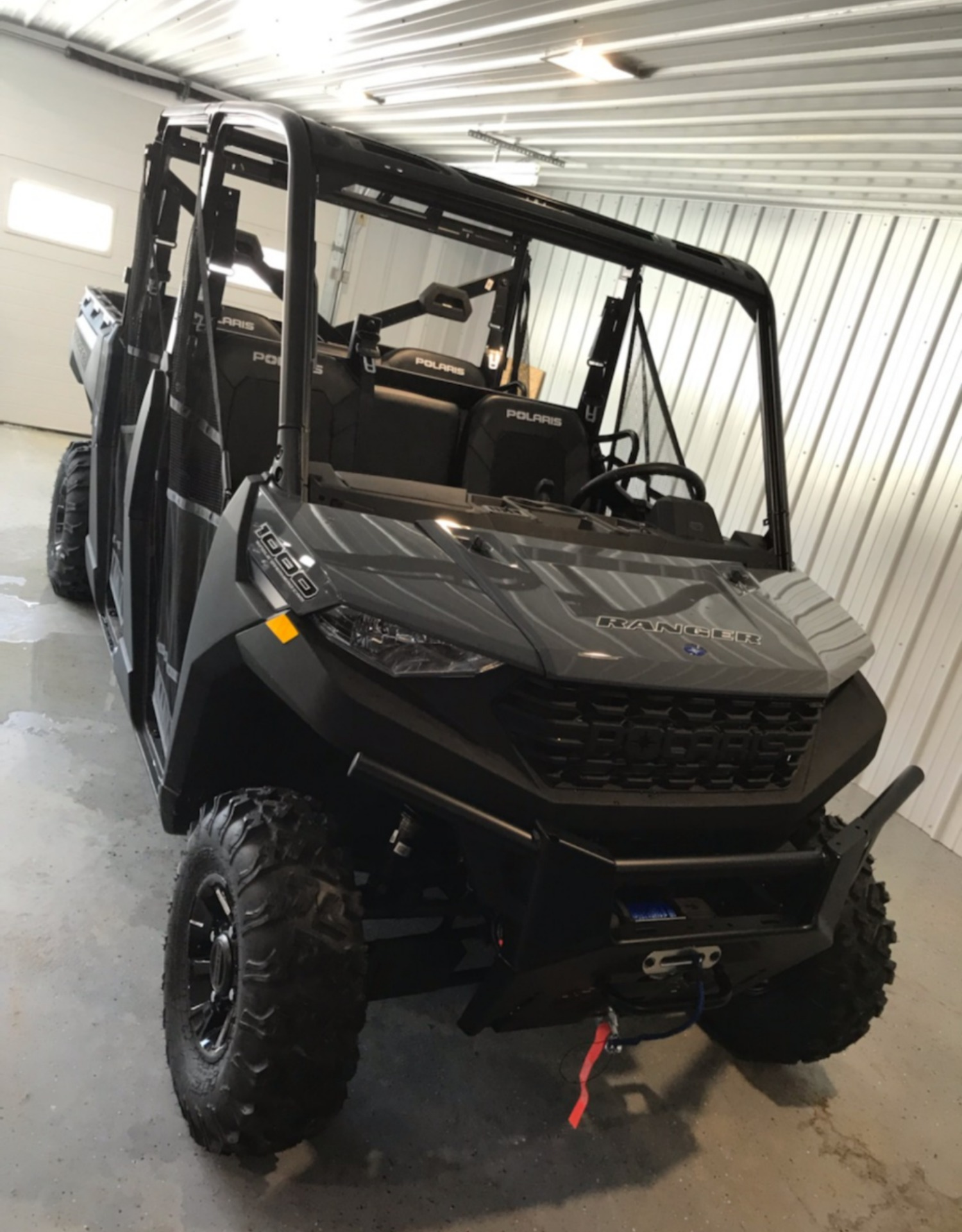 2021 Polaris Ranger Crew 1000 Premium + Winter Prep Package in Malone, New York - Photo 1