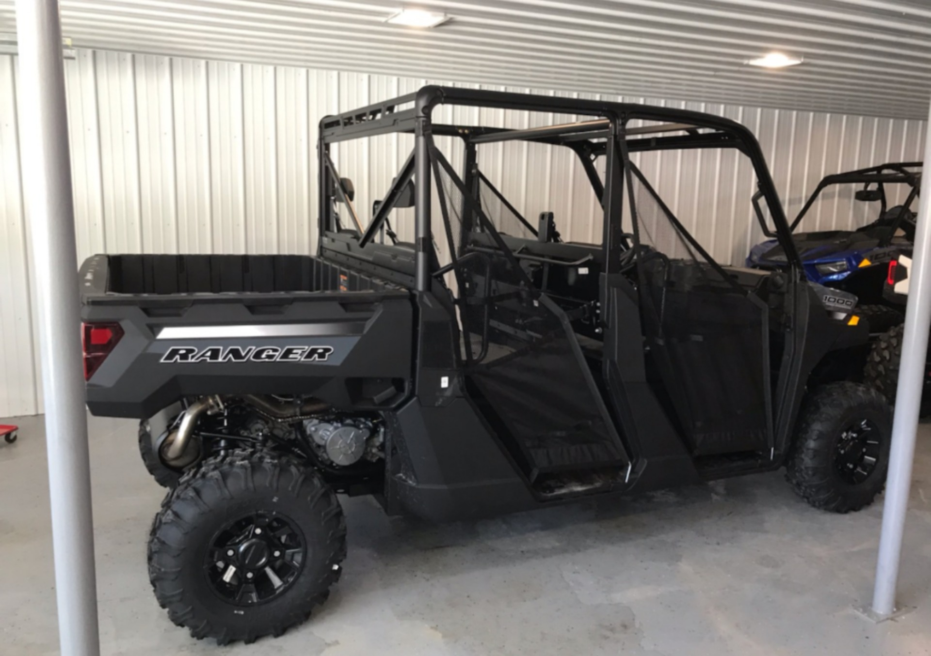 2021 Polaris Ranger Crew 1000 Premium + Winter Prep Package in Malone, New York - Photo 2