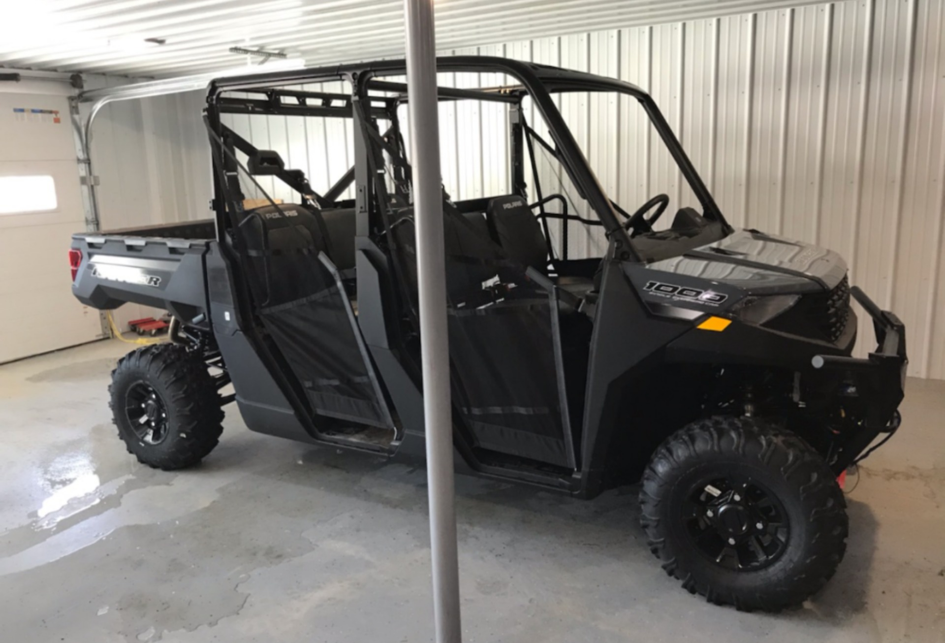 2021 Polaris Ranger Crew 1000 Premium + Winter Prep Package in Malone, New York - Photo 3