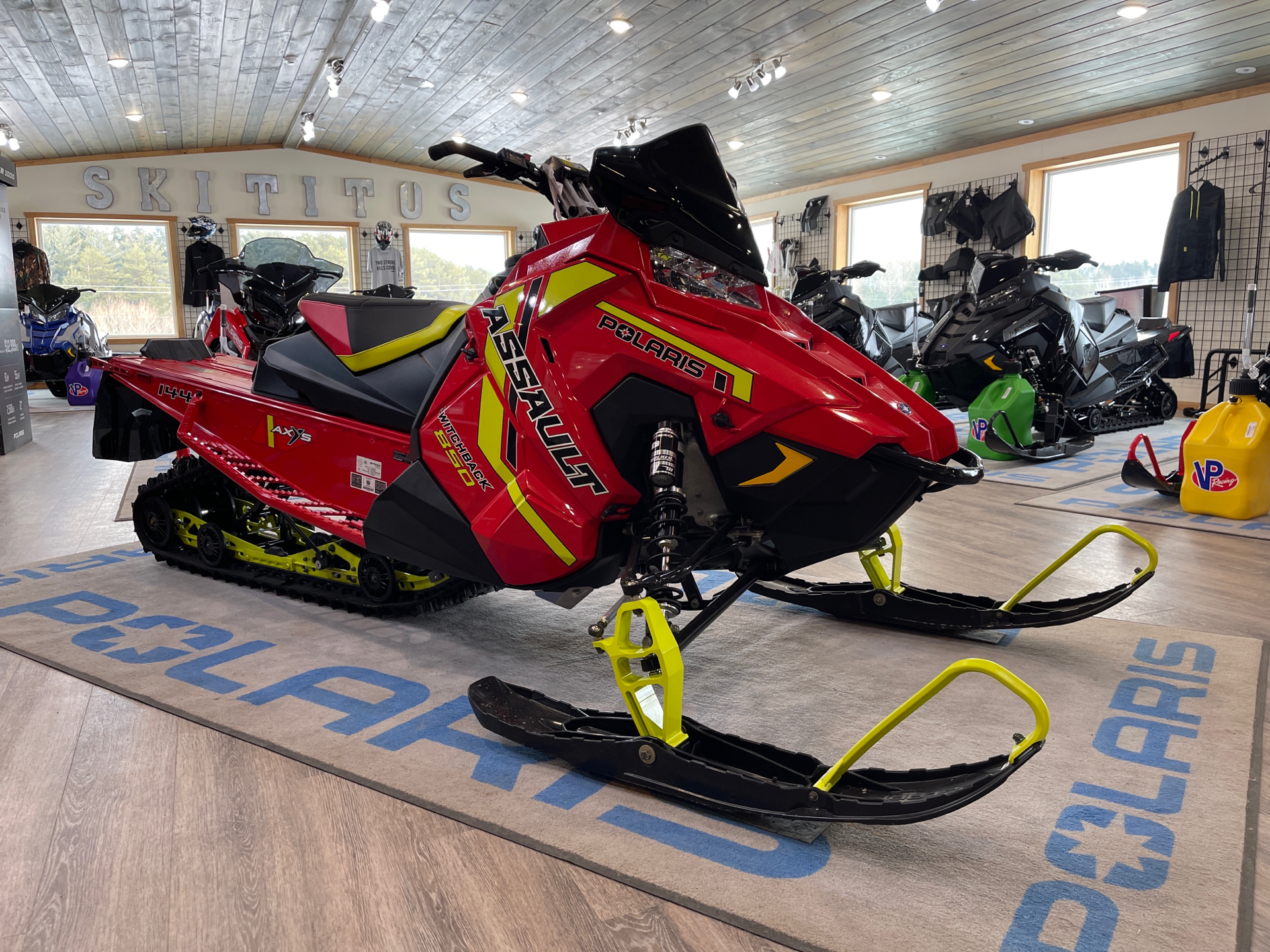 2021 Polaris 850 Switchback Assault 144 Factory Choice in Malone, New York - Photo 1