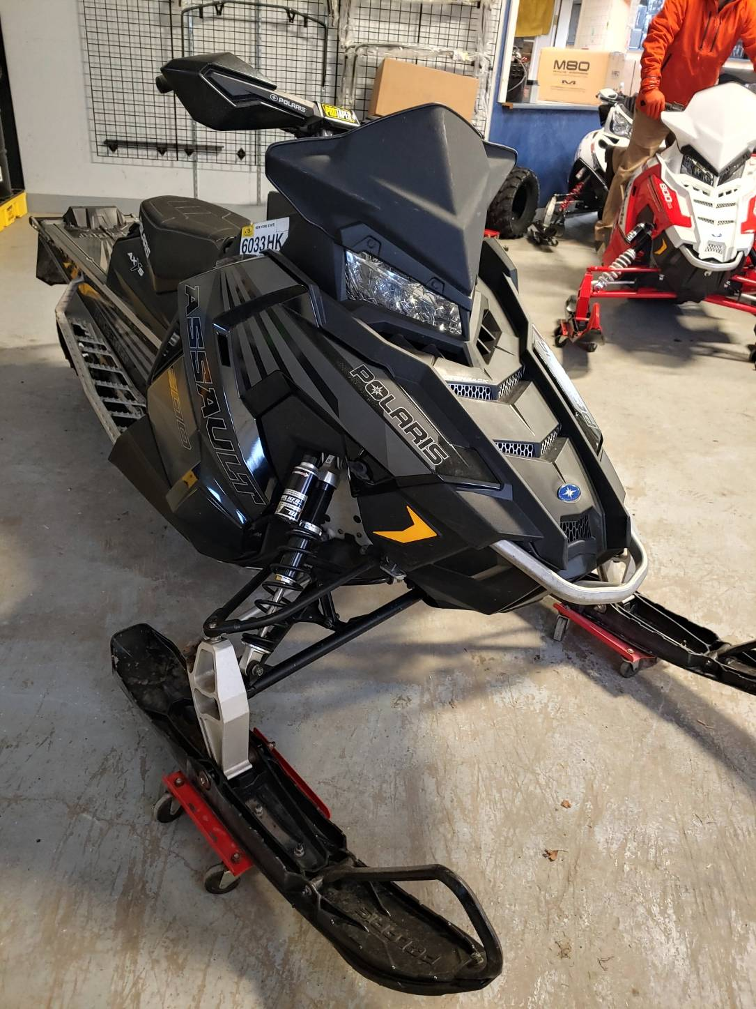 2017 Polaris 800 Switchback Assault 144 in Malone, New York - Photo 2