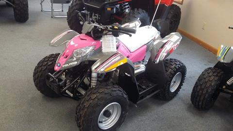 2017 Polaris Outlaw 50 in Malone, New York