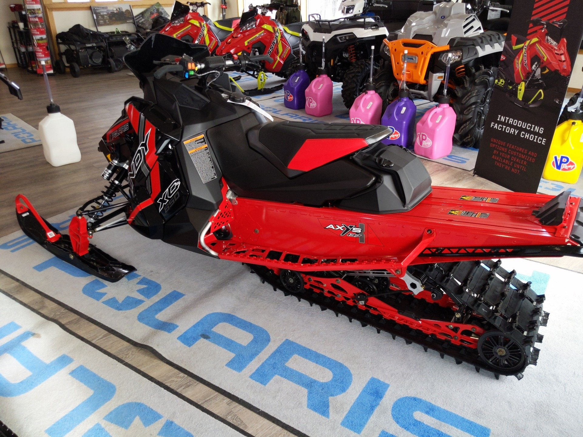 2021 Polaris 850 Indy XC 137 Launch Edition Factory Choice in Malone, New York - Photo 4