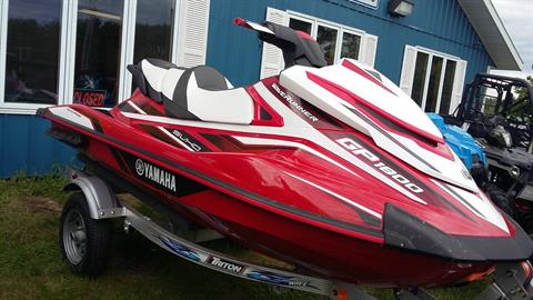 2017 Yamaha GP 1800 in Malone, New York