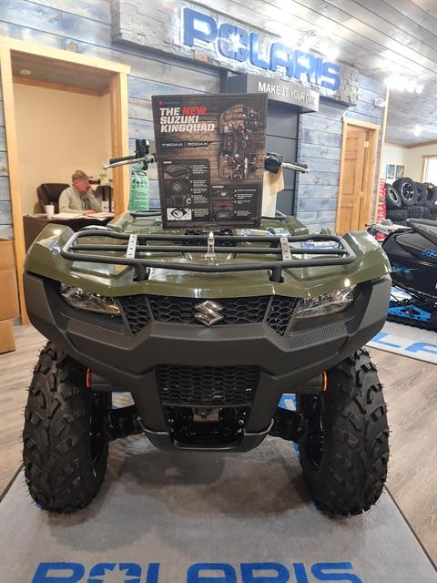 2020 Suzuki KingQuad 500AXi Power Steering in Malone, New York - Photo 1