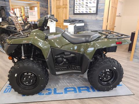 2020 Suzuki KingQuad 500AXi Power Steering in Malone, New York - Photo 3
