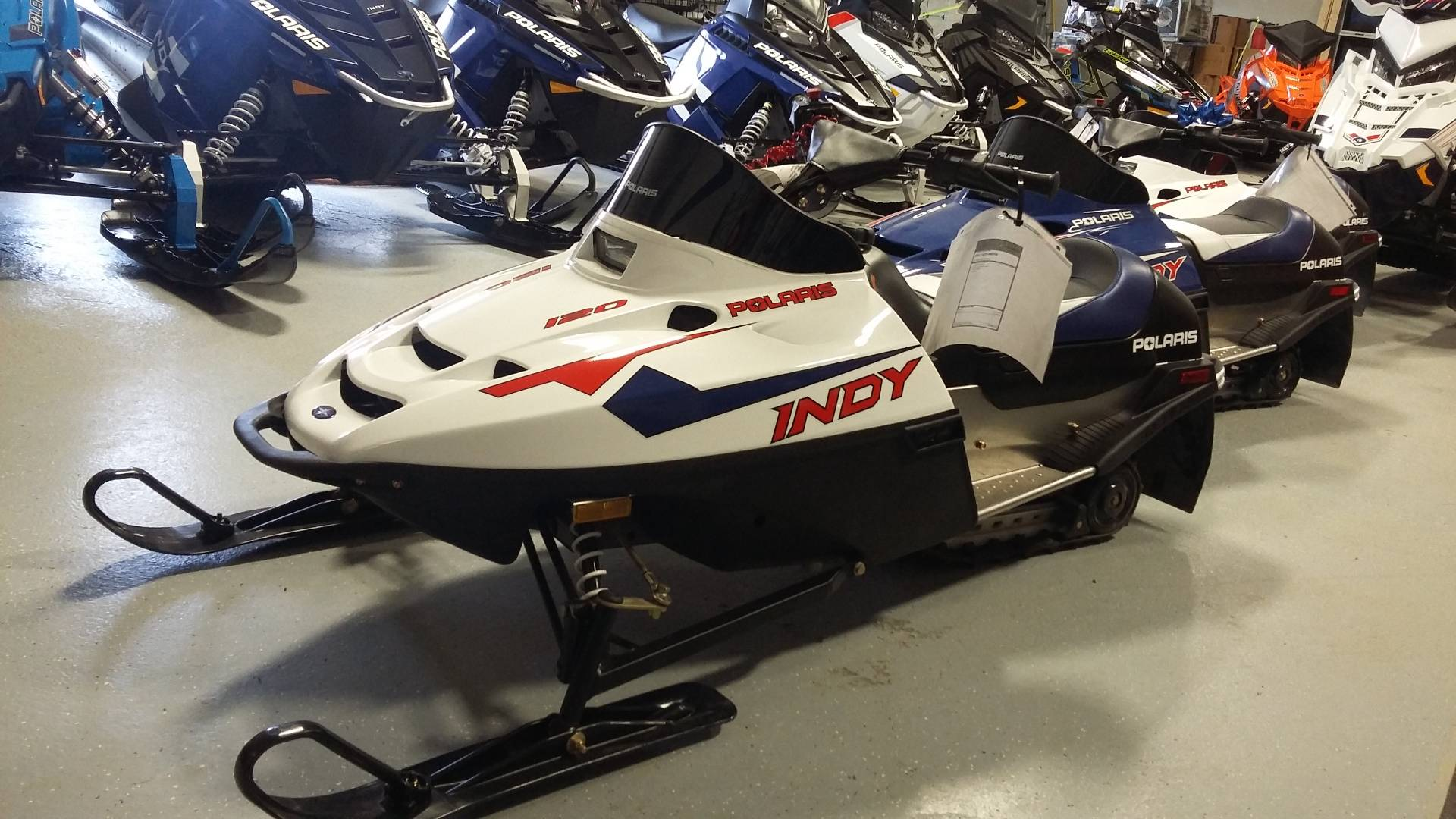 2017 Polaris 120 Indy In Malone New York