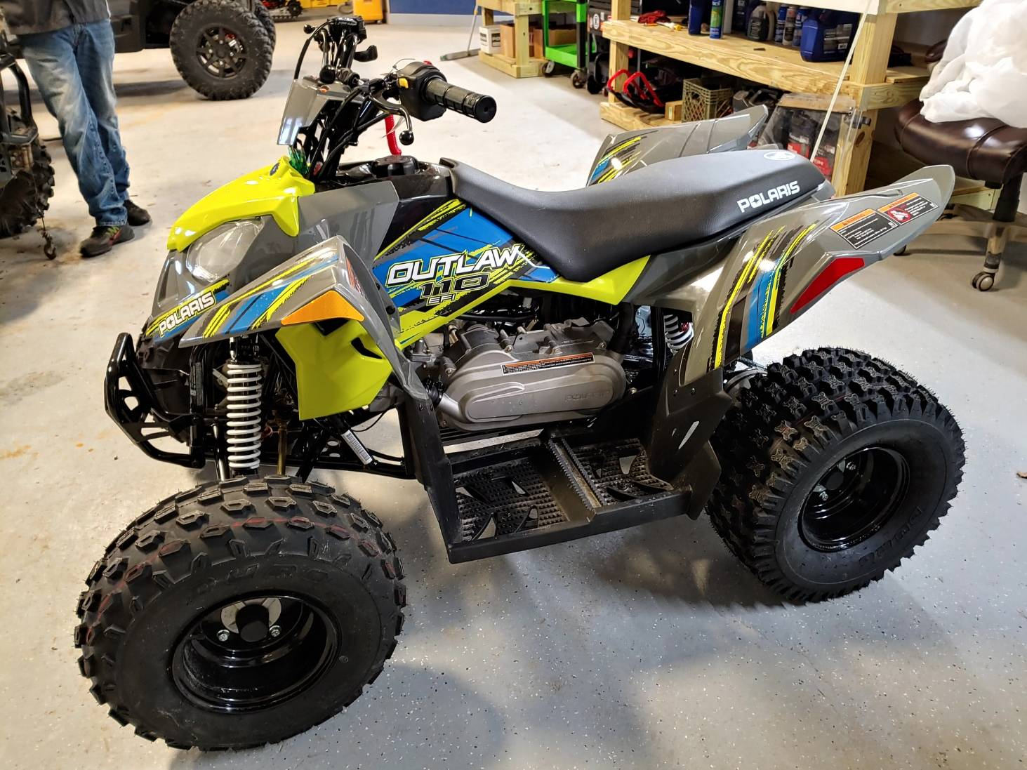 2018 Polaris Outlaw 110 in Malone, New York - Photo 1