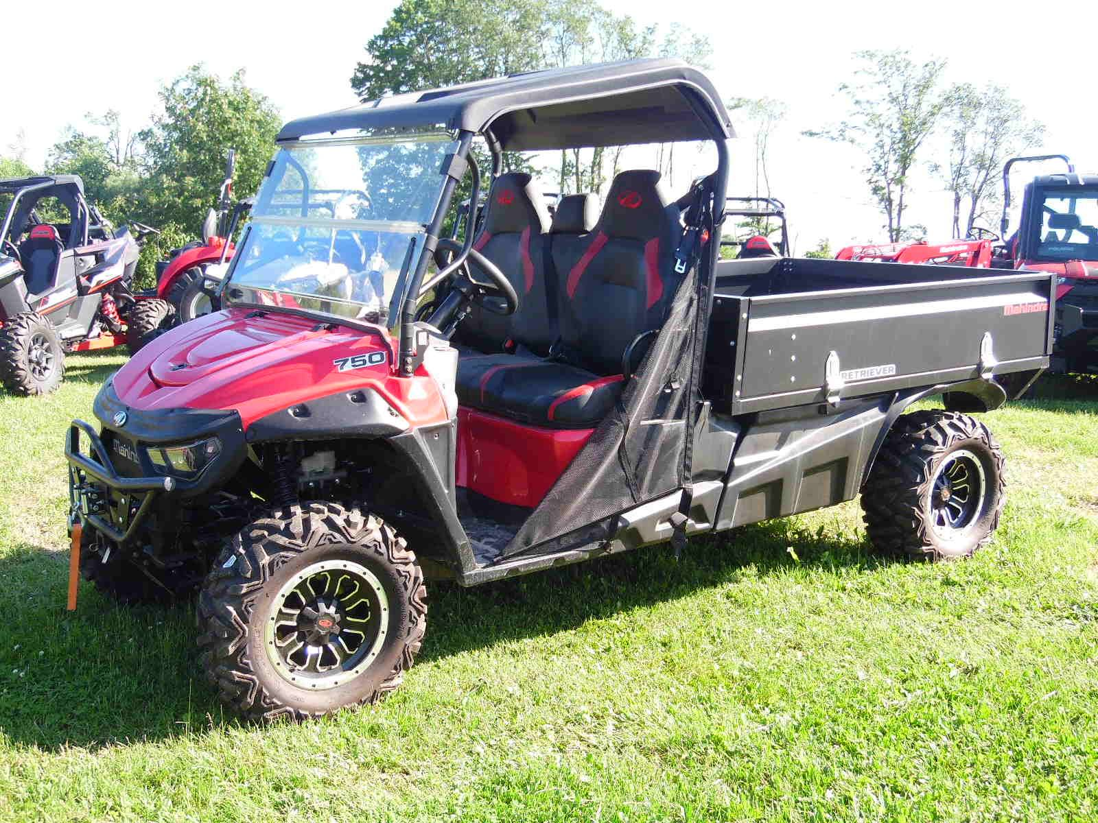 2018 Mahindra Retriever 750 Gas Longbed in Malone, New York