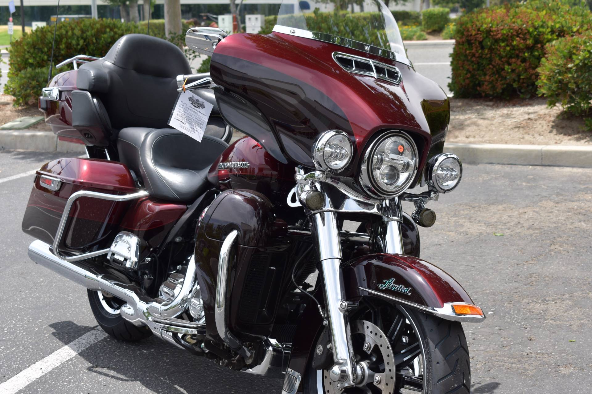 2015 Harley-Davidson Ultra Limited in Moorpark, California