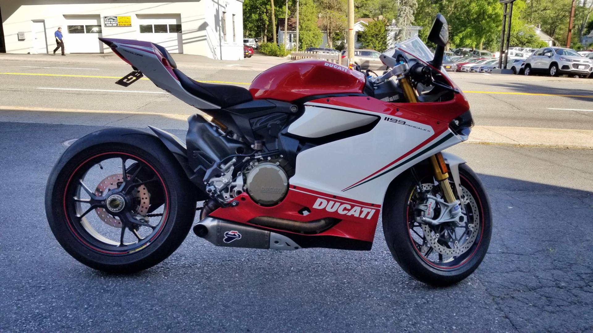 2012 1199 Panigale S Tricolore
