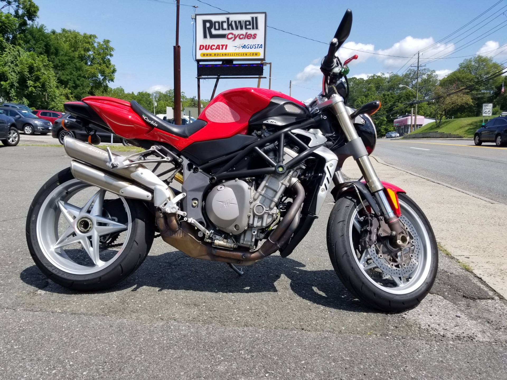2008 mv agusta brutale 910s for sale fort montgomery ny. Black Bedroom Furniture Sets. Home Design Ideas