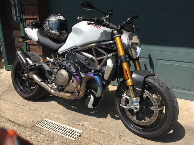 2014 Ducati Monster 1200 S in Fort Montgomery, New York