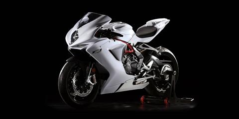 2018 MV Agusta F3 675 Pearl White in Fort Montgomery, New York - Photo 2