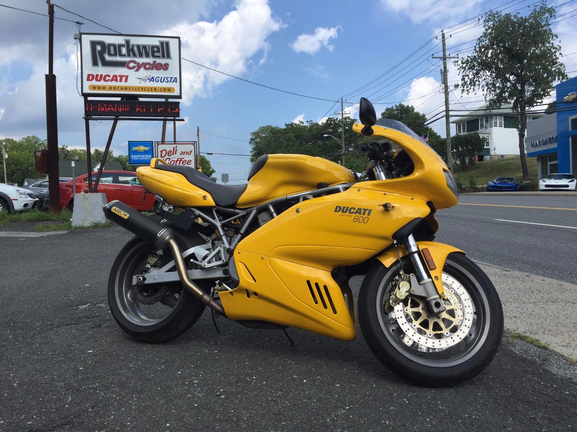 2004 Supersport 800