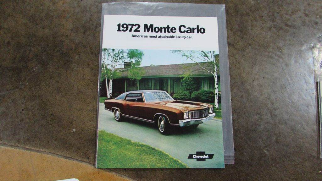 1972 Chevrolet Monte Carlo in Big Bend, Wisconsin - Photo 33