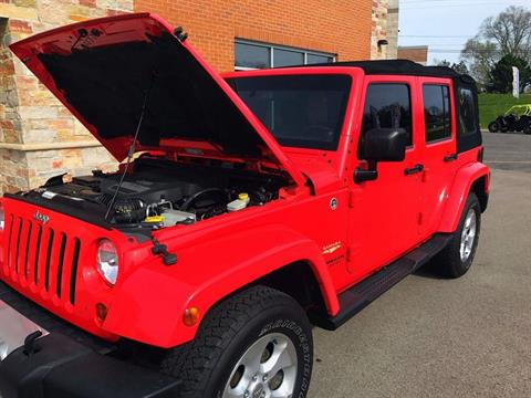 2013 Jeep Wrangler Unlimited Sahara in Big Bend, Wisconsin - Photo 10
