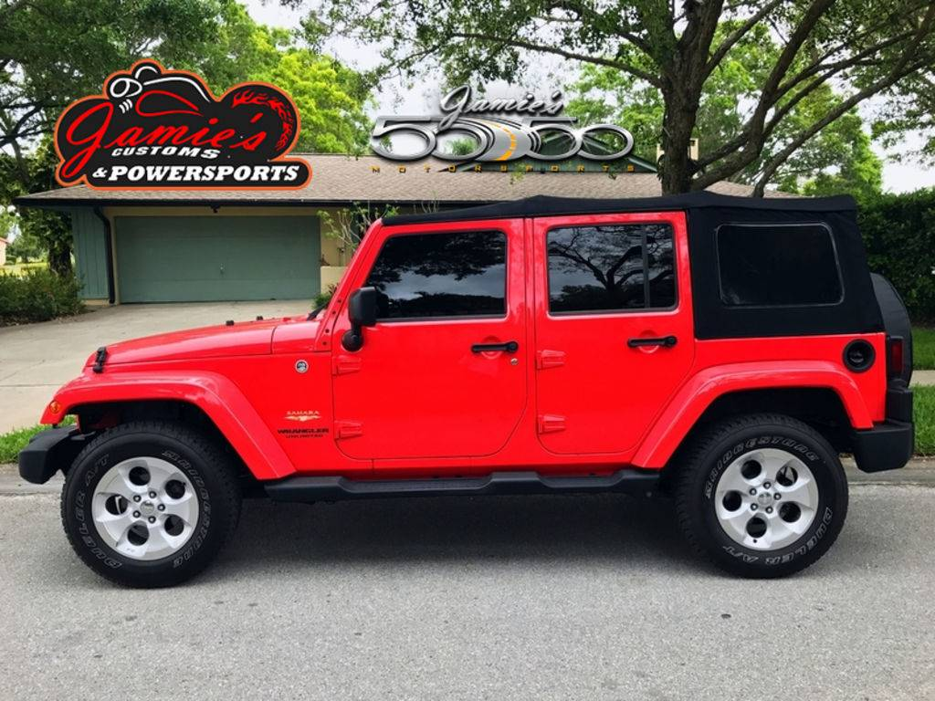 2013 Jeep Wrangler Unlimited Sahara in Big Bend, Wisconsin - Photo 1