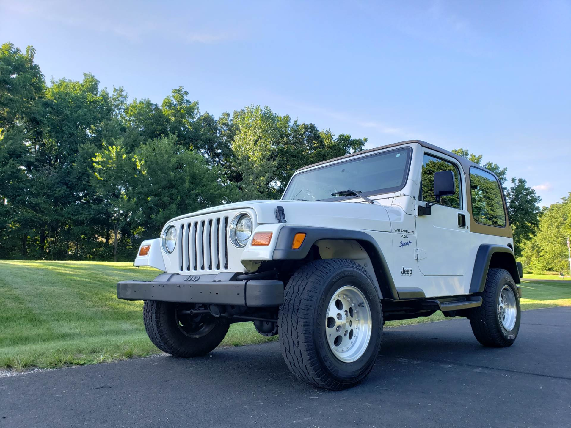 1997 Jeep Wrangler Sport 2dr 4WD SUV in Big Bend, Wisconsin - Photo 54