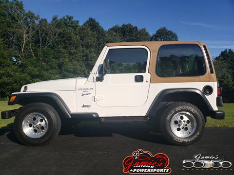 1997 Jeep Wrangler Sport 2dr 4WD SUV in Big Bend, Wisconsin - Photo 1